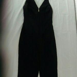 bebe black jumpsuit